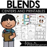 Letter Blends Worksheets and Activities