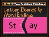Letter Blends and Word Endings