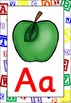 Letter Blocks Themed Alphabet Posters Frieze {UK Teaching