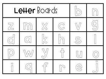Letter Board Freebie