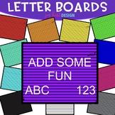 Letter Boards Clip Art {jen hart Clip Art}