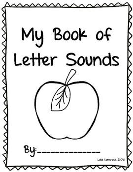 Letter Sounds Book