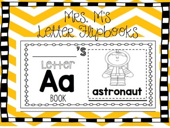 Individual Letter Flip Books