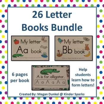 Letter Books- 26 Books included