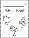 Letter Book- I know my ABC's (Letter Tracing)