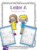 Letter Books Aa Freebie