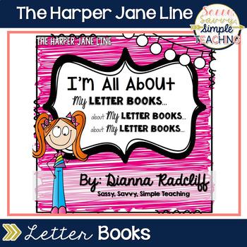 Letter Books ~ With Alphabet Recognition & Fine Motor Skil