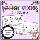 Letter Books for Alphabet Sound and Recognition