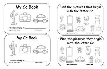 Letter Books for B, C, D