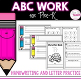 Letter Work Bundle for Pre-K