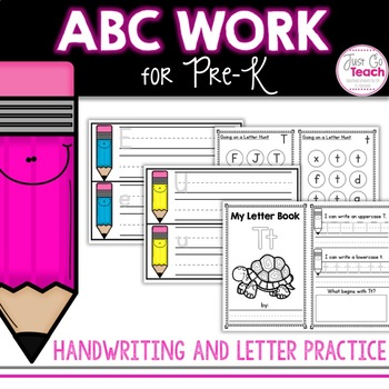 Letter Books for Pre-K Students