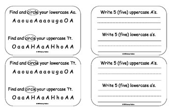 Letter Books for Vowels