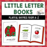 Letter Books of Songs and Nursery Rhymes