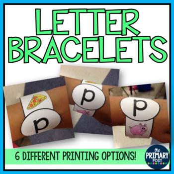 Letter Bracelets {great for RTI!}