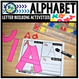 Letter Building Fine Motor Handwriting Activities