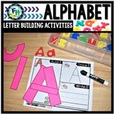 Letter Building Fine Motor Handwriting Activities