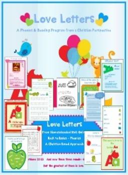 Letter Bundle (A-D) - © Love Letters - A Phonics/Reading Program