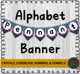 Letter Bunting | Letter Pennants | Alphabet Bulletin Board
