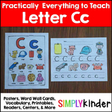 Letter C | Alphabet Printables and Centers