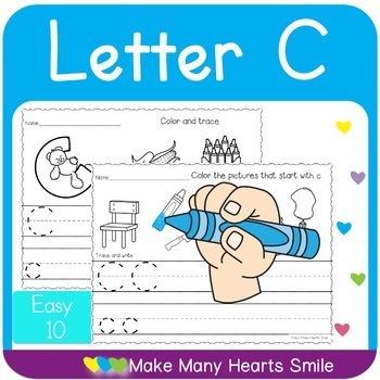 Easy 10: Letter C