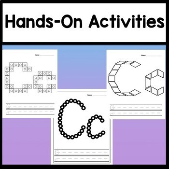 Letter C Activities {Letter C Book and 5 Letter C Worksheets!}