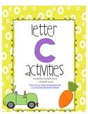Letter C Activities