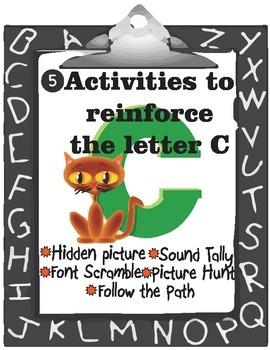 Letter C Activities Orton Gillingham