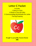 Letter C Activity Bundle - 2 Books with 5 Corresponding Worksheets