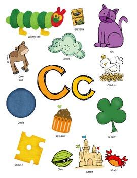 Letter C Activity Packet