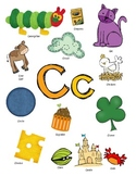 Letter C Activity Packet