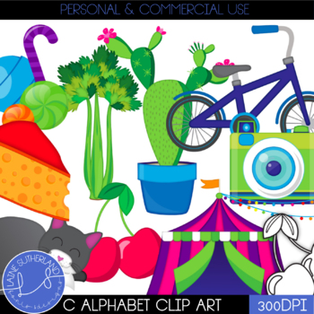Letter C Alphabet Clip Art