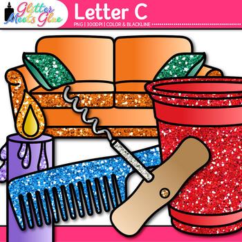 Letter C Alphabet Clip Art {Teach Phonics, Recognition, and Identification}