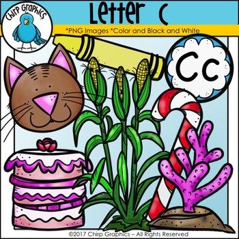 Letter C Alphabet Clip Art Set - Chirp Graphics