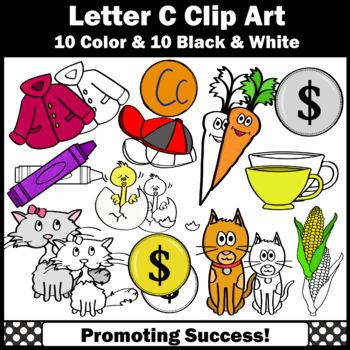 Letter C Clipart, Alphabet Clip Art, Letter Sounds SPSSPS