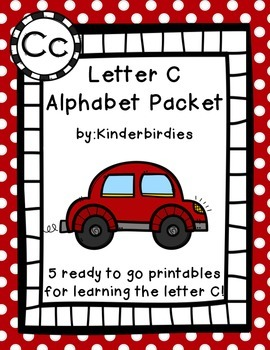 Letter C Alphabet Packet