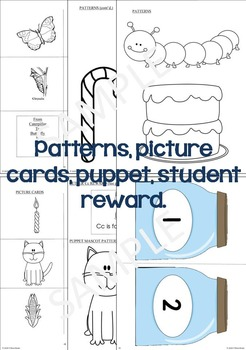 Letter C Unit, Differentiated Letter Writing Pages & Activities