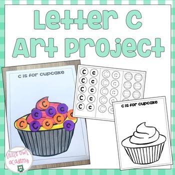 Letter C Art Project