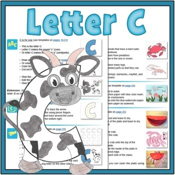 Letter C Bundle: 1 Week Of Complete Curriculum Lessons