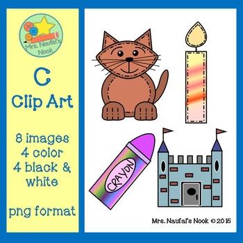 Letter C Clip Art