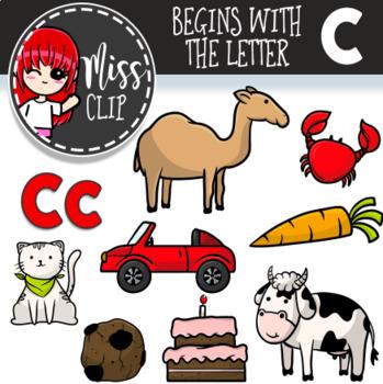 Letter C Clip Art Bundle {Miss Clip} Alphabet Commercial Use