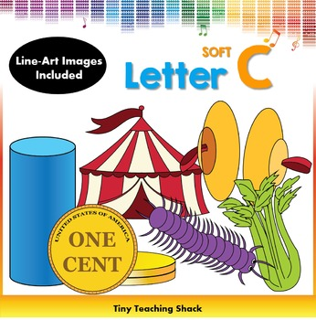 Letter C Clip Art (Soft C)