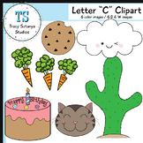 "Letter ""C"" Clipart Set {Tracy Sztanya Studios}"