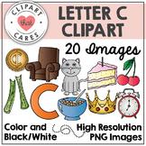 Letter C Alphabet Clipart by Clipart That Cares