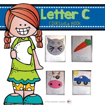 Letter C Craftivity Book