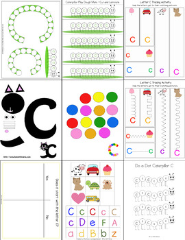 Letter C Crafts and Activities