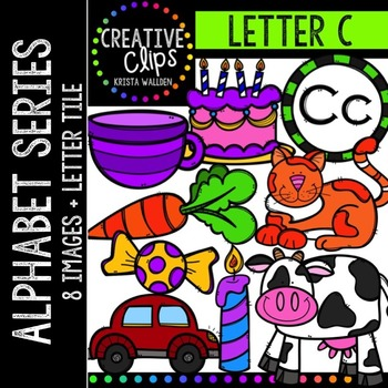 Letter C {Creative Clips Digital Clipart}