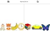 Letter C/D Picture Sort & Worksheets- Beginning Sounds & Ending Sounds