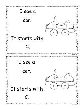 Letter C Little Reader/Book
