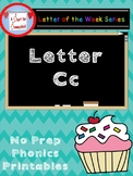 Letter C No Prep Printables
