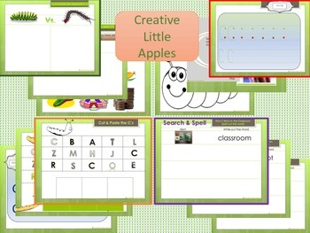 PreK and Kindergarten: Letter C Packet